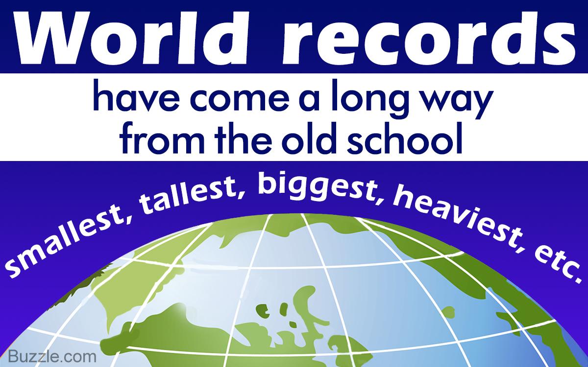 10 Really Bizarre World Records