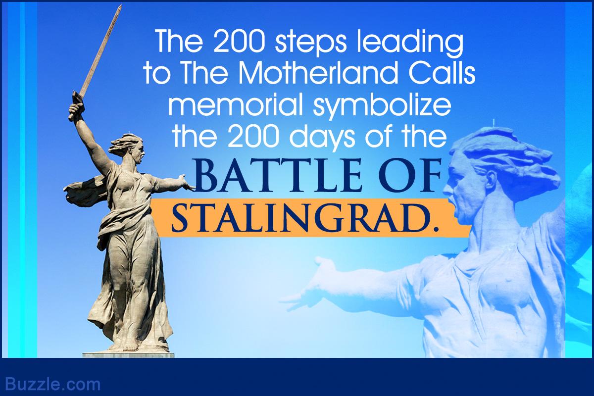 The Motherland Calls memorial