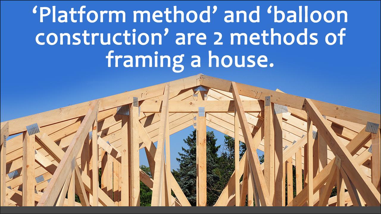 House Framing Tips