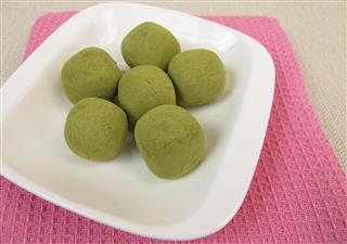 Matcha Praline Balls