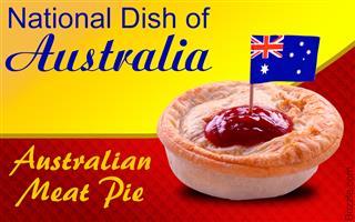 Popular foods in Australia - Meat Pie