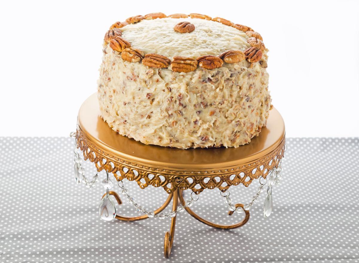 Italian Whipped Cream Rum Cake