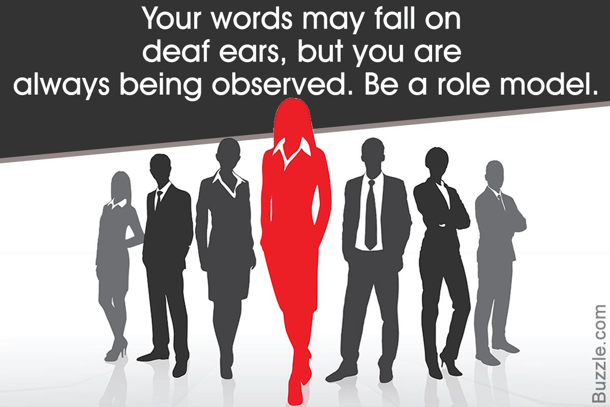 Characteristics of a Role Model