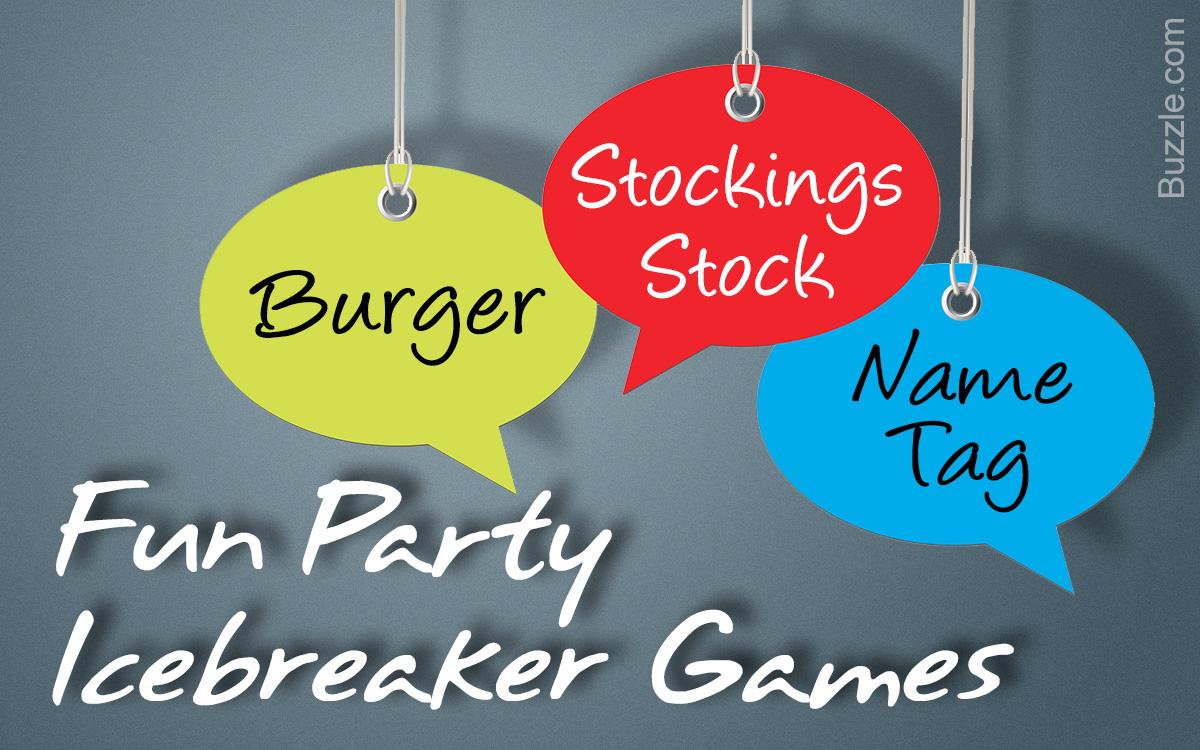 Party Icebreaker Games