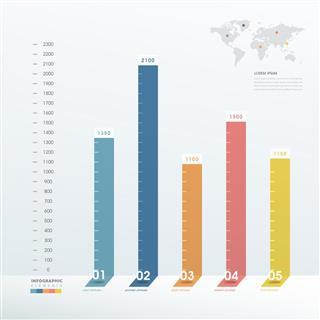 elegant infographic design
