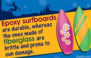Epoxy vs. fiberglass surfboards