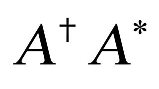 Hermitian matrix