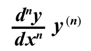 Nth Derivative