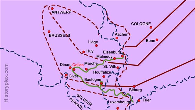 Ardennes Counteroffensive Plan