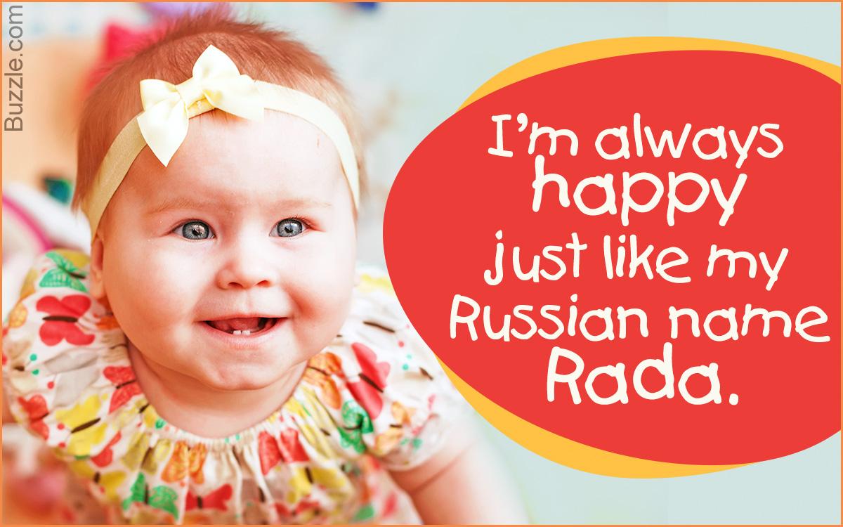 Russian girl names