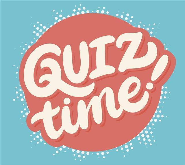 Quiz time banner