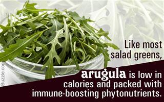 Health benefit of arugula