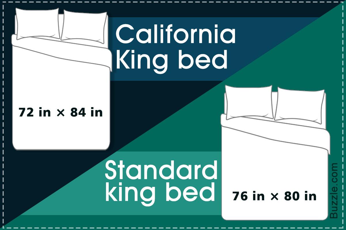 Standard King Bed Vs. California King Bed