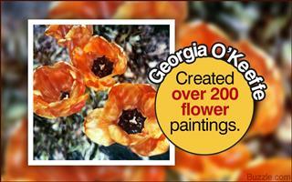 Fact about Georgia O'Keeffe
