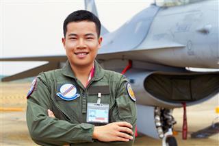 Man in air force