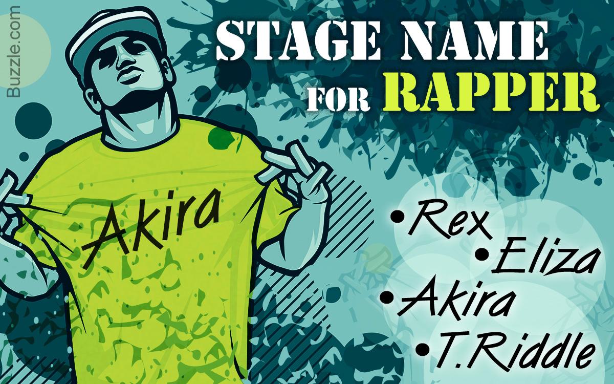 how to make a rap name