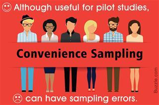 Advantage and disadvantage of convenience sampling