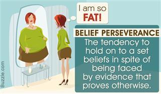 Concept of belief perseverance