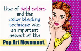 Characteristics of pop art movement