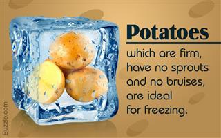 Best potatoes for freezing