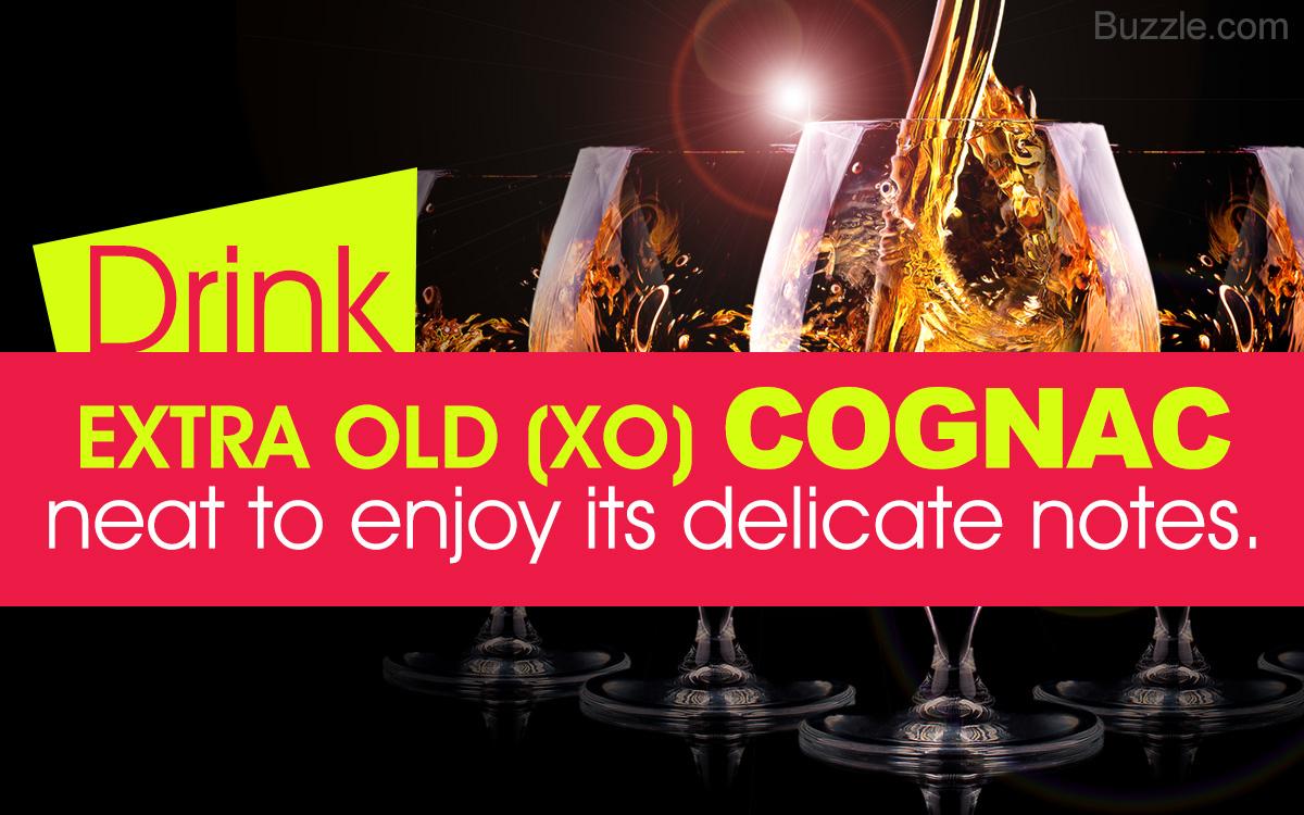 Best way to drink cognac