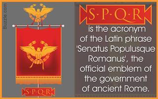 Roman SPQR meaning