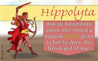 Fact about Hippolyta in Greek Mythology