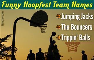 Funny hoopfest team name ideas