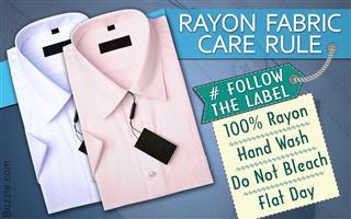 Rayon fabric maintenance tip