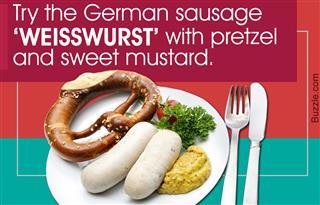 Type of German sausage
