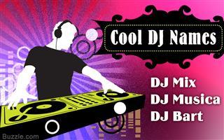 Cool DJ names