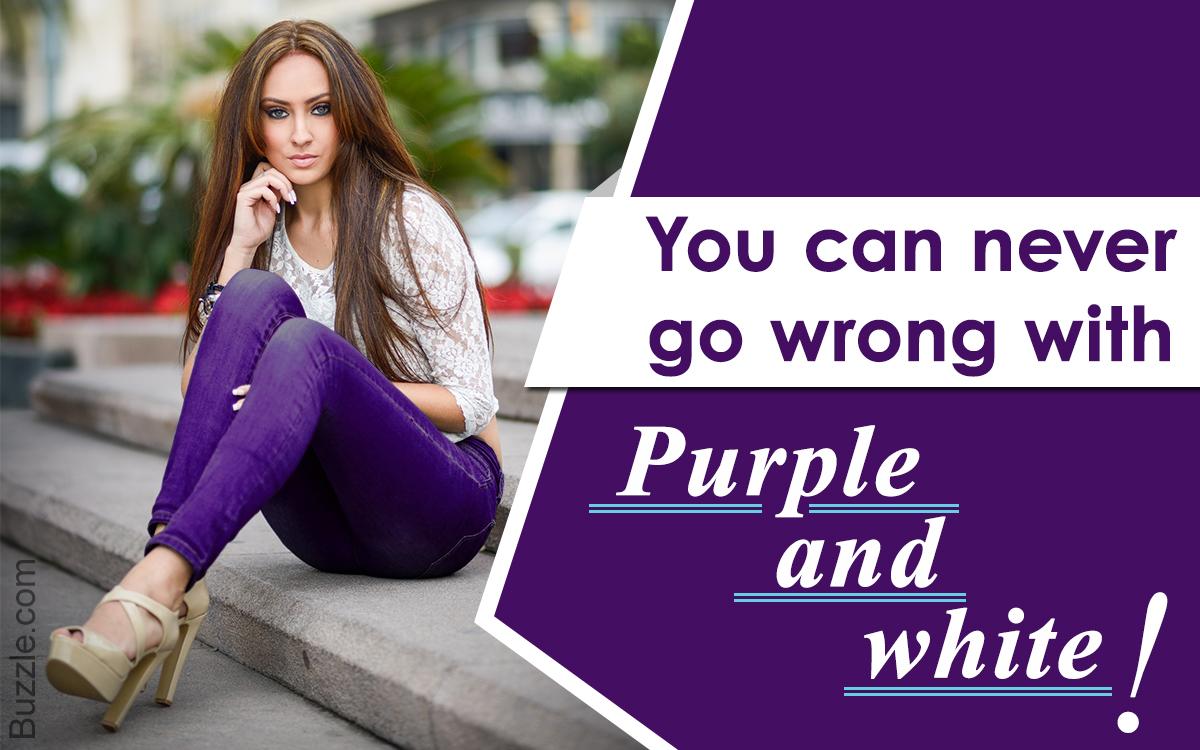 Colors That Go With Purple Part - 49: Fashionhance