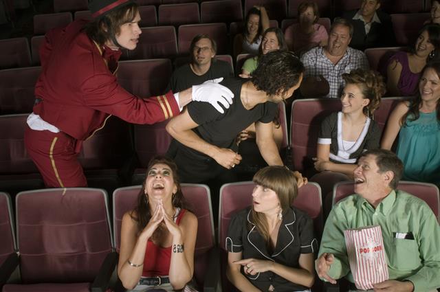 Rowdy Movie Crowd