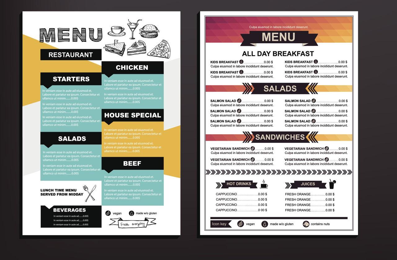 Description Of Food Beverages Served In Restaurant