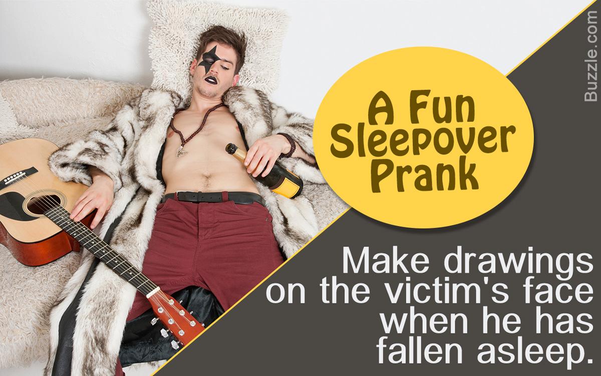 Sleepover Pranks for Boys