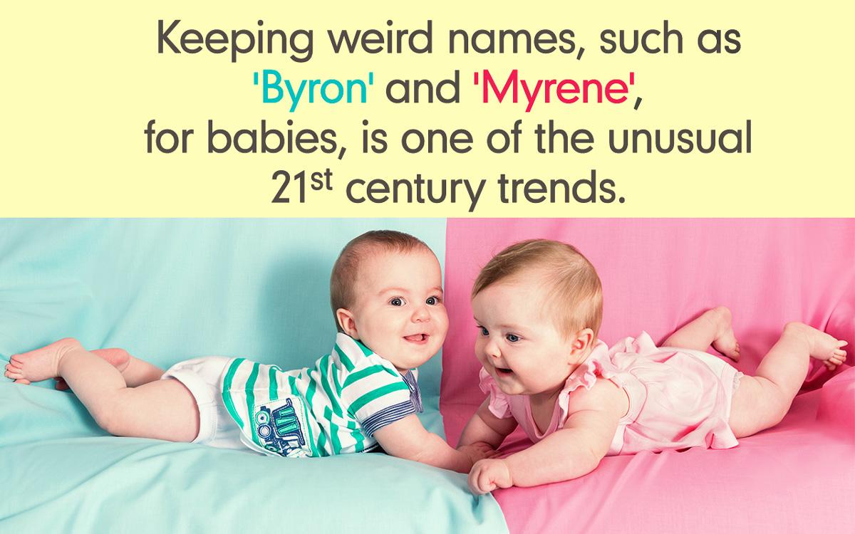 Weird Baby Names