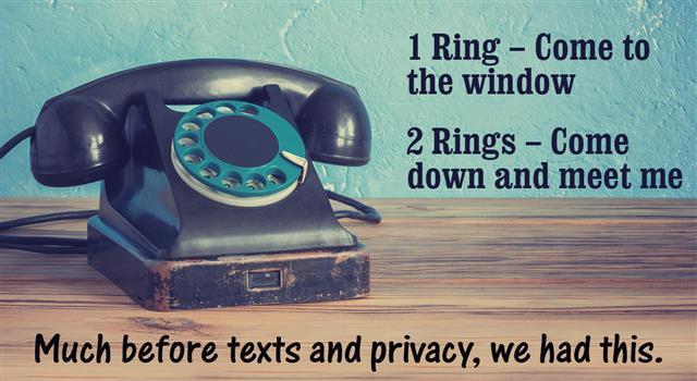 landline phone nostalgia