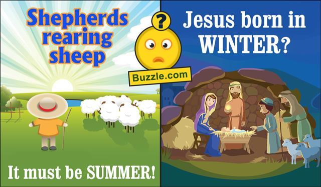 Sheeps and dog,Christmas nativity scene