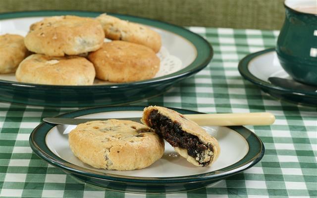 Mincemeat Eccles Cakes