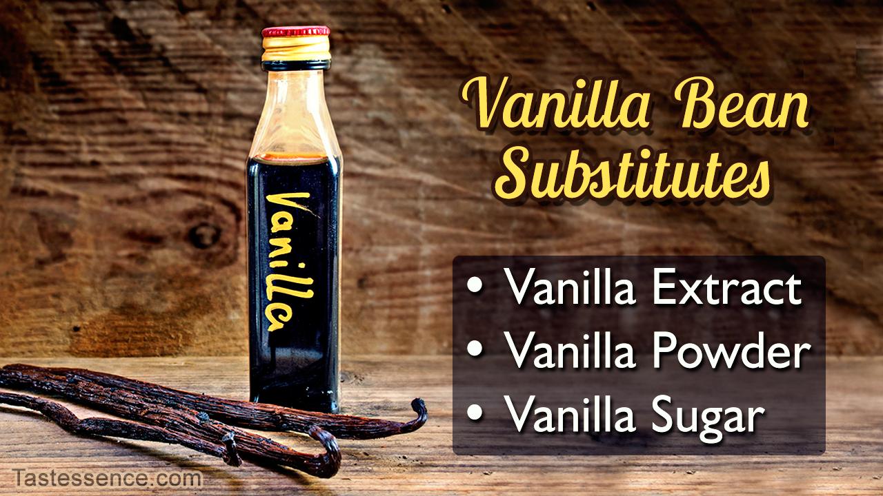 Vanilla Bean Substitutes