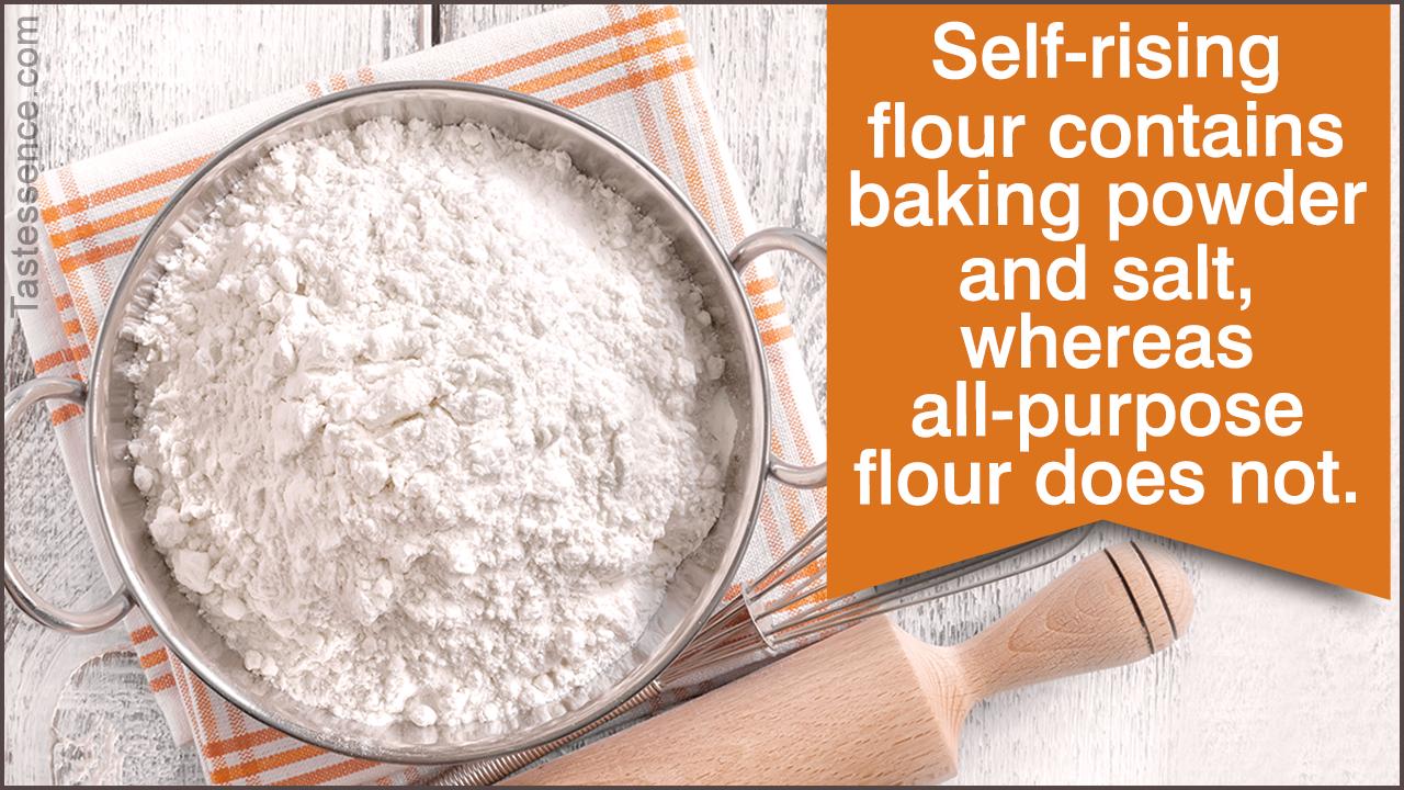 Self-rising Flour Vs. All-purpose Flour