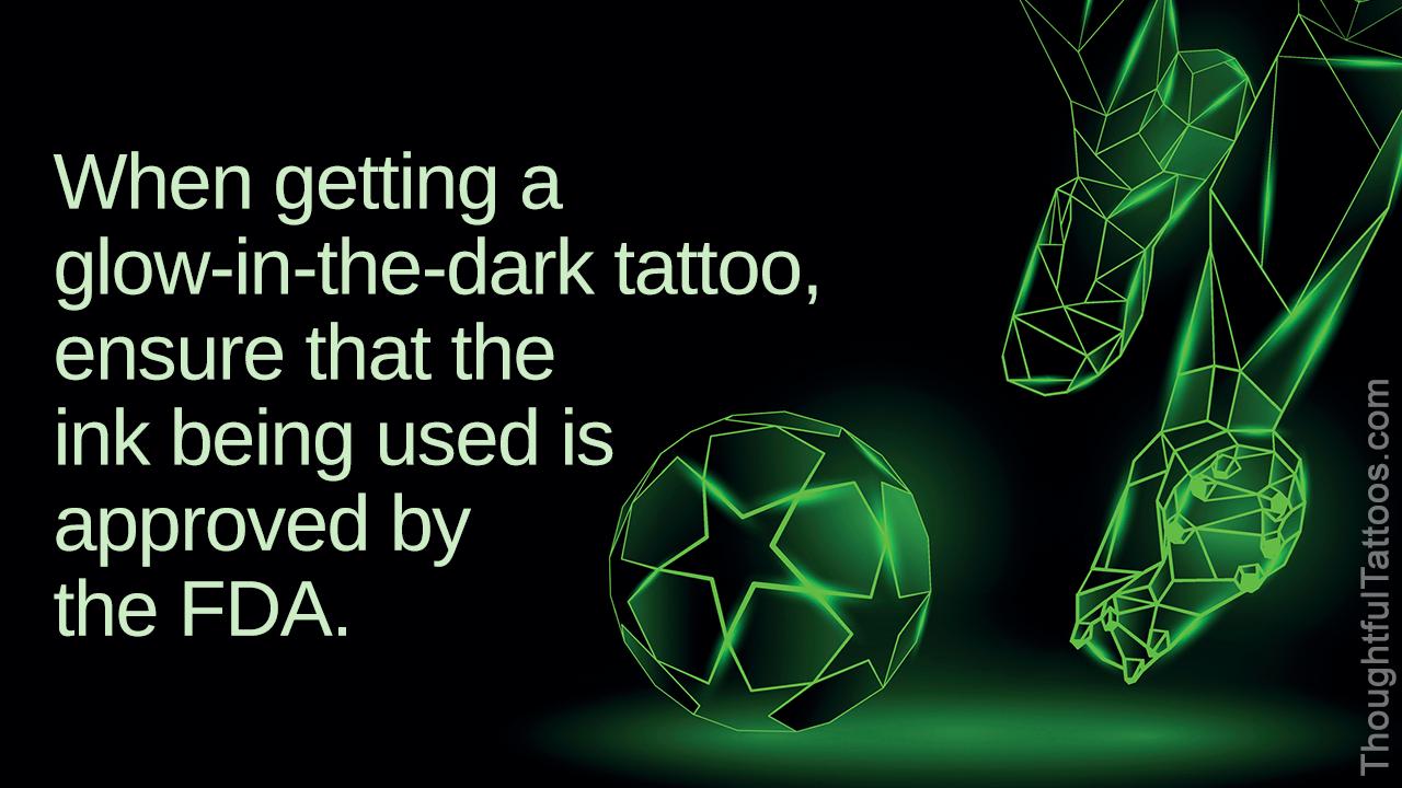 Glow-in-the-dark Tattoos