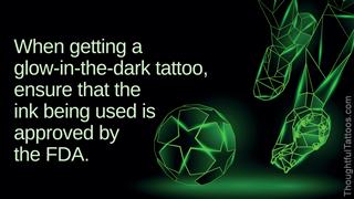 Glow-in-the-dark tattoo ideas