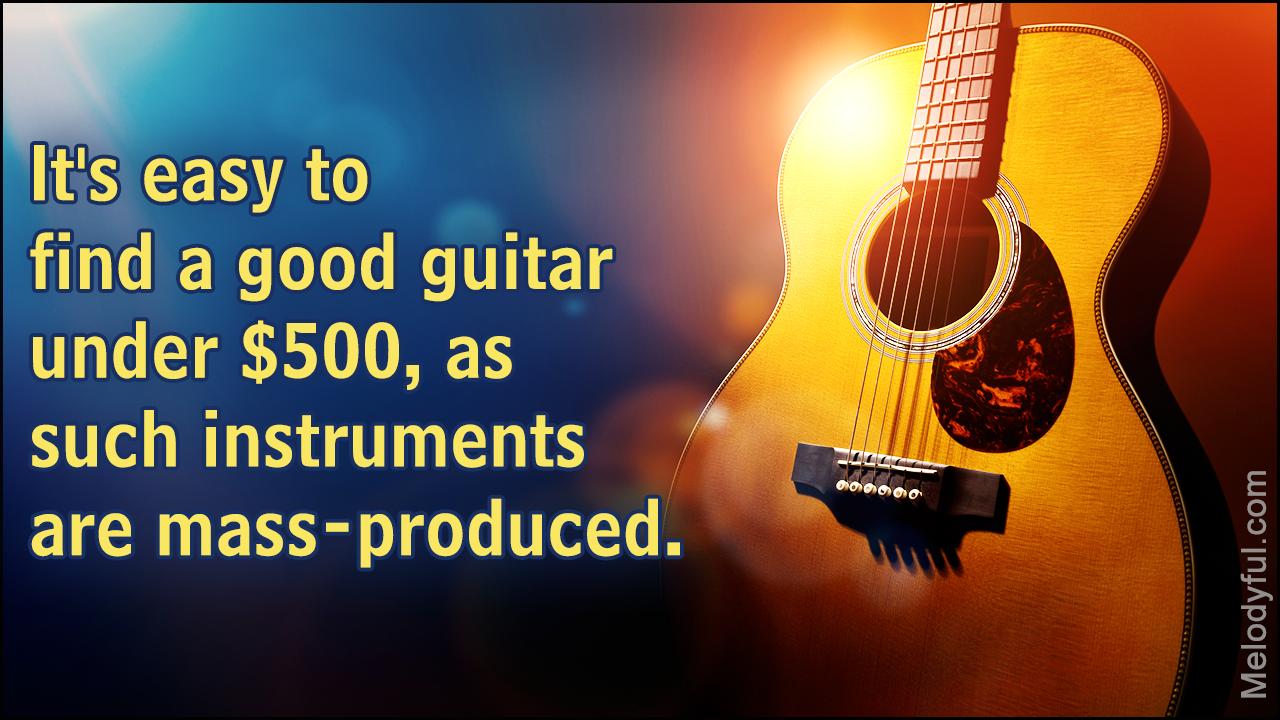 Best Acoustic Guitars Under USD 500