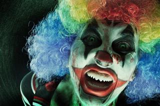 Creepy Clown Close Up