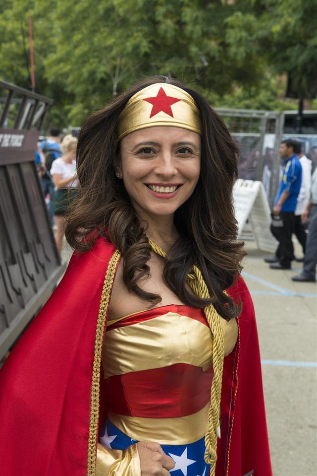 Wonder woman at Comic-Con 2013