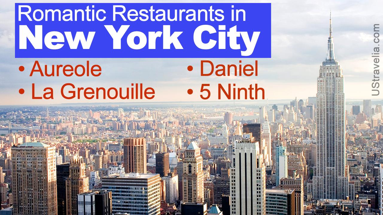 Most Romantic Restaurants in NYC