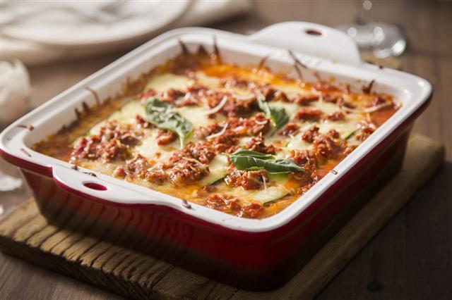 Zucchini Lasagna Gluten Free
