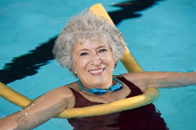 Senior Woman Swim
