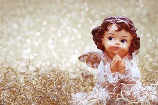 Praying Christmas Angel